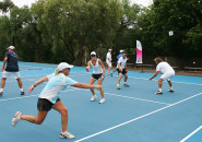 Womens Tennis Lessons Inspire Tennis Sydney north shore Adult Ladies