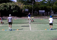 Inspire tennis lessons for kids sydney north shore Junior group program coach lesson Killara Lawn Tennis Club