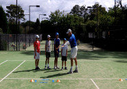 Inspire tennis lessons for kids Inspire Junior group program coach lesson Killara Lawn Tennis Club 3