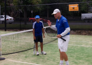 Inspire tennis lessons for kids Inspire sydney north shore Junior group program coach tennis lessons Killara Lawn Tennis Club 7