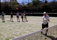 Womens Tennis Lessons Inspire Tennis Sydney North Shore Ladies Clinic on court 2