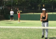 Womens Tennis Lessons Inspire Tennis Sydney North Shore group ladies clinic group lesson