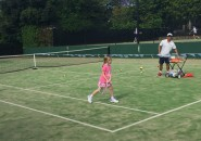 Private Tennis Lessons Inspire tennis lessons for kids Inspire junior private coaching lesson